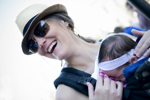 About Baby Carriers vs. Strollers