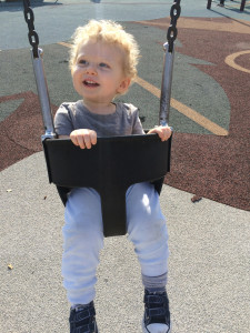 Billy at the Playground