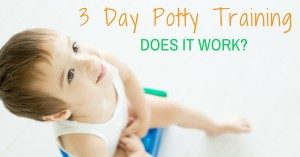 3 Day Potty Training Does It Work?